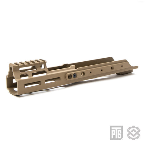 PTS Kinetic SCAR MREX Rail- Dark Earth