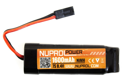 Nuprol 8.4v 1600mah NIMH Mini Battery
