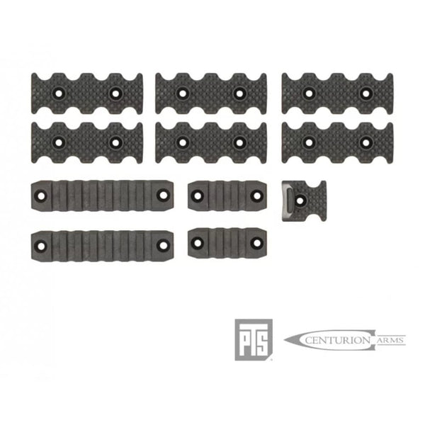 PTS Centurion Arms CMR Rail Accessory Pack Black or Dark Earth
