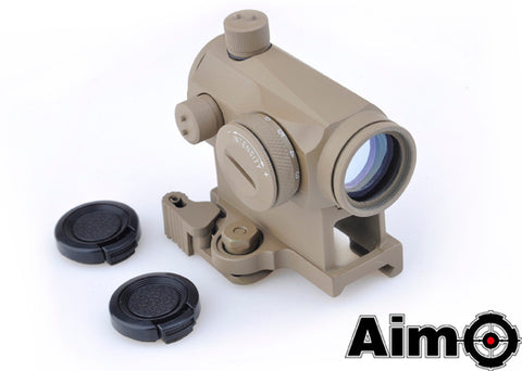 Element AIM O T1 Red/Green Dot With QD Mount Tan