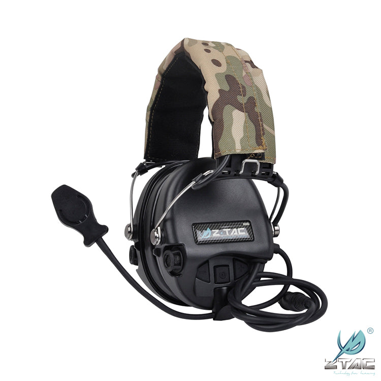 Z Tac Comtac Headset with Down Lead for Kenwood/Beofang- All Colours