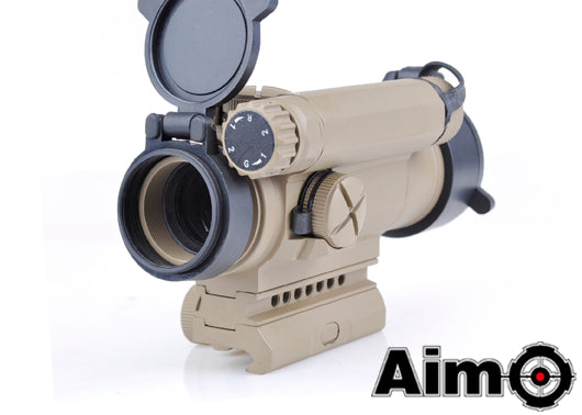 Element AIM-O Comp M4 Red/Green Dot Scope Tan
