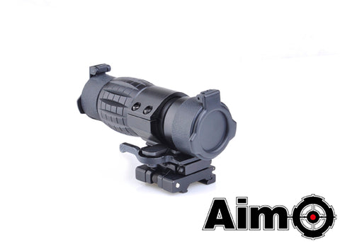 Element AIM-O 4x Magnifier With QD Mount