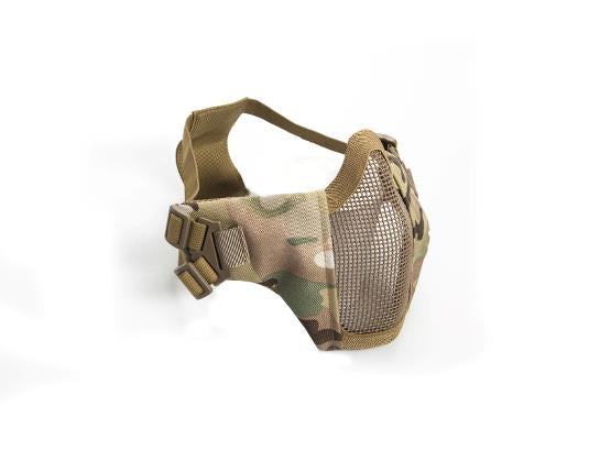 ASG Lower Metal Mesh Mask with Cheek Pads - Multicam