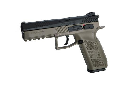 ASG CZ P-09 Dark Earth Including Case