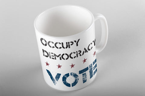 Occupy Democracy Mug