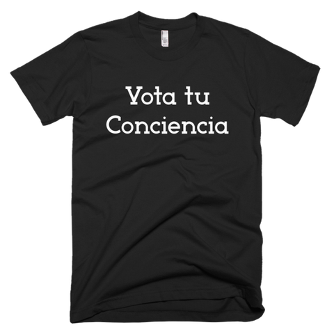 Vota Tu Conciencia Spanish Men's T-shirt DARK