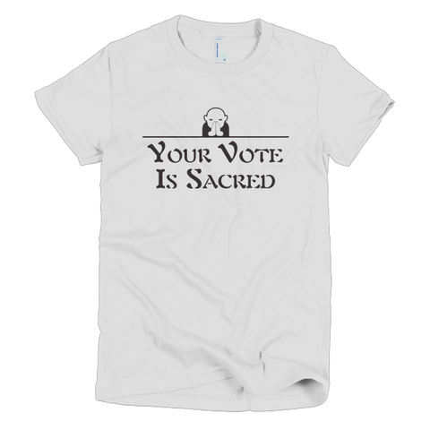 Sacred Vote Women's T-shirt