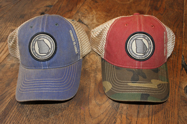 "SUNNY IN GEORGIA  ""state"" Trucker Hat"