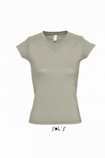 SOL'S Ladies Moon V Neck T-Shirt (garment and printing / 11388)