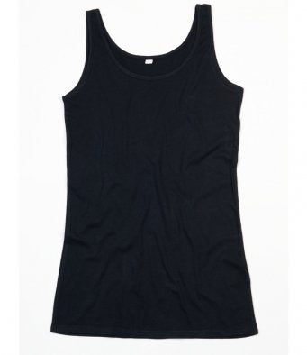 Mantis Ladies Long Length Vest (garment & printing / M72)