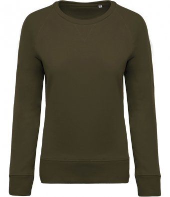 LAURA Organic ladies sweatshirt (garment & printing / KB481)