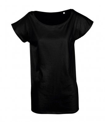 CHLOE - SOL'S Ladies Marylin Long T-Shirt (garment & printing / 11398)