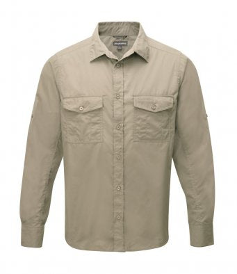 Craghoppers Kiwi Long Sleeve Shirt (garment & printing / CR013)