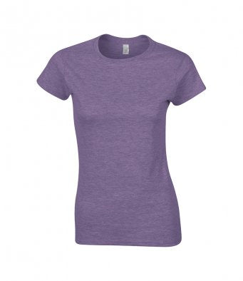 Gildan SoftStyle® Ladies Fitted Ringspun T-Shirt (garment & printing / GD72)