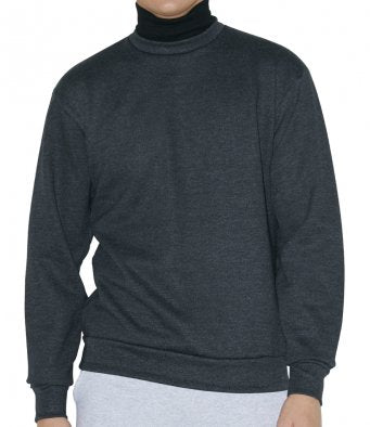 American Apparel Unisex Flex Fleece Turtleneck Sweatshirt (garment & print / AA062)