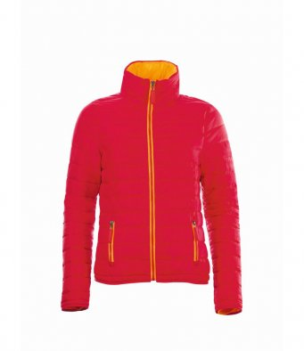 MILLY Red padded jacket (garment and printing / 01170