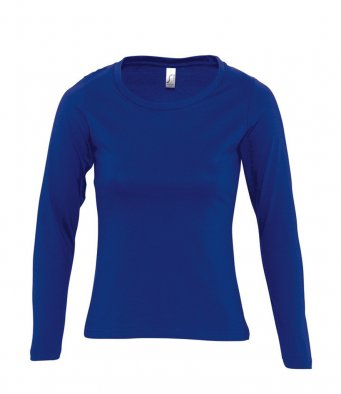 HOLLY - SOL'S Ladies Majestic Long Sleeve T-Shirt (garment & print / 11425)