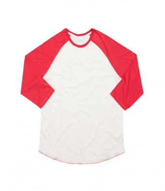 Superstar by Mantis 3/4 Sleeve Baseball T-Shirt (garment & printing / M88)