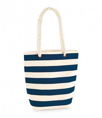 Westford Mill Nautical Tote (bag and print / W685)