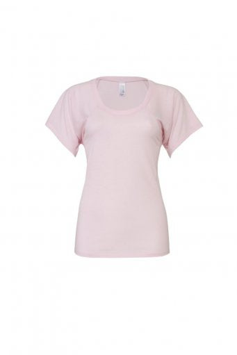 'Rebel Rose' Bella Flowy T-Shirt (garment & printing / BL8801)