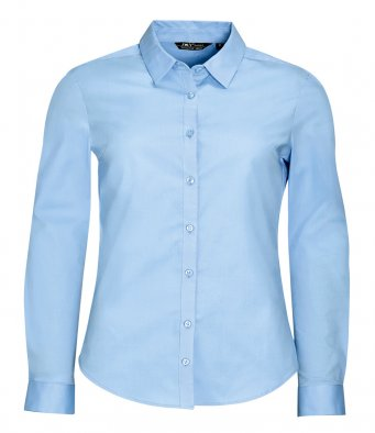 SOL'S Ladies Blake Long Sleeve Stretch Poplin Shirt (garment & printing / 01427)