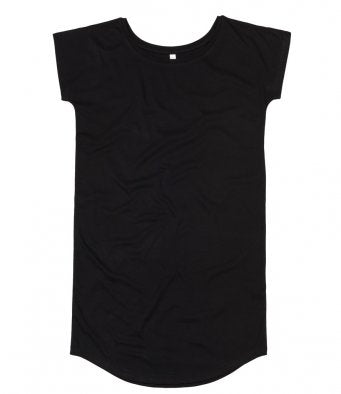 Mantis Ladies Loose Fit T-Shirt Dress (garment & printing / M99)