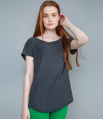 ZOE - Mantis Ladies Organic Loose Fit Slub T-Shirt (garment & printing / M123)