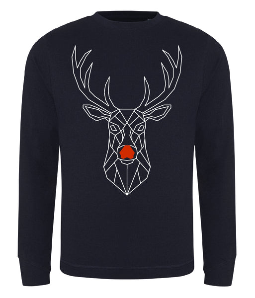 Geo Deer Sweatshirt