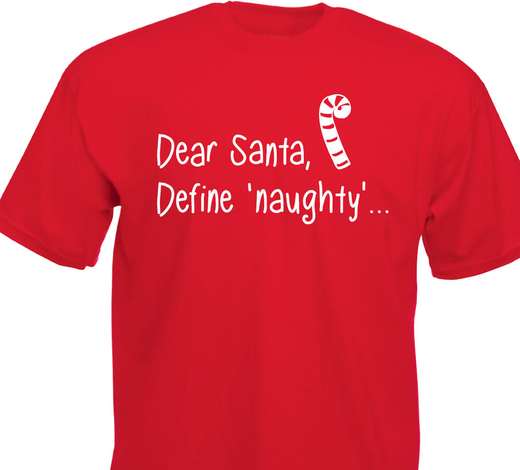 Define Naughty T-shirt