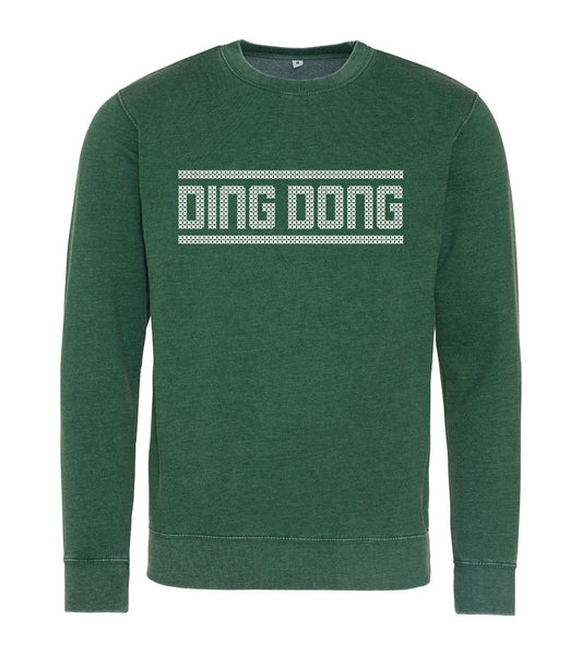 'Ding Dong' Washed Out Sweatshirt