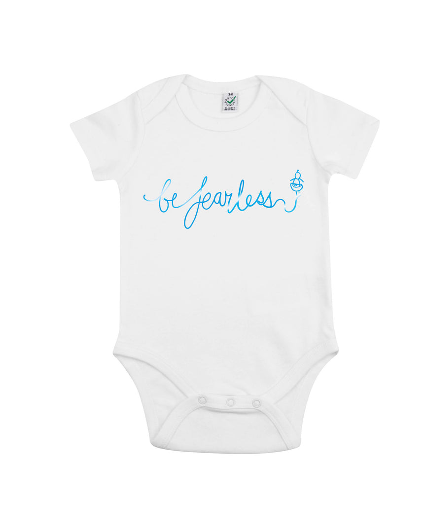 'Be Fearless' Babygro