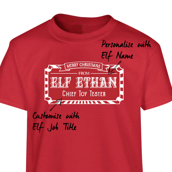 Elf T-shirts - Adults