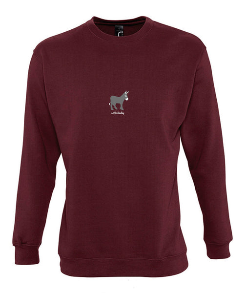 'Little Donkey' Unisex Sweatshirt
