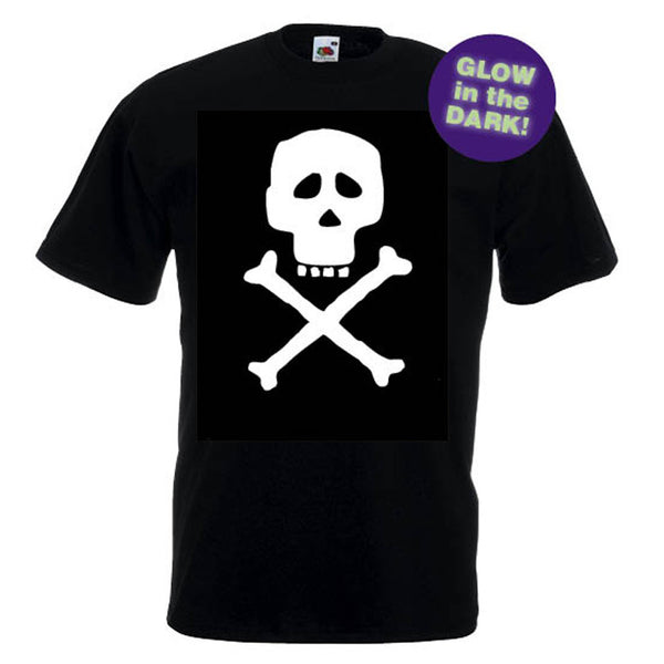 Skull & Crossbones T-shirt (Glow in the Dark)