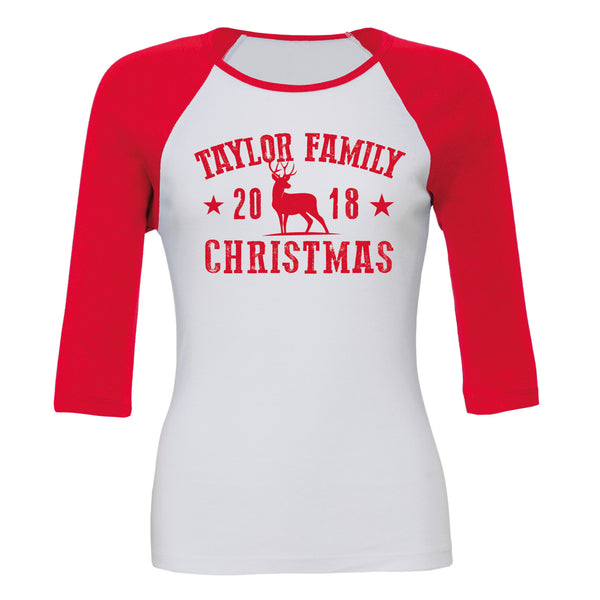 Family Christmas Souvenir (Personalised Unisex or Ladyfit)