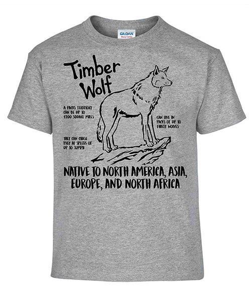 Timber Wolf T-shirt (CWP)
