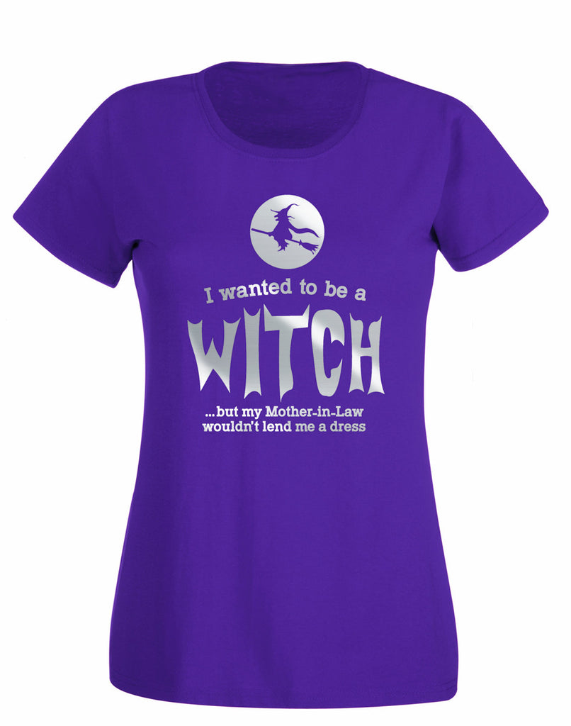 'I Wanted to be a Witch...' T-shirt