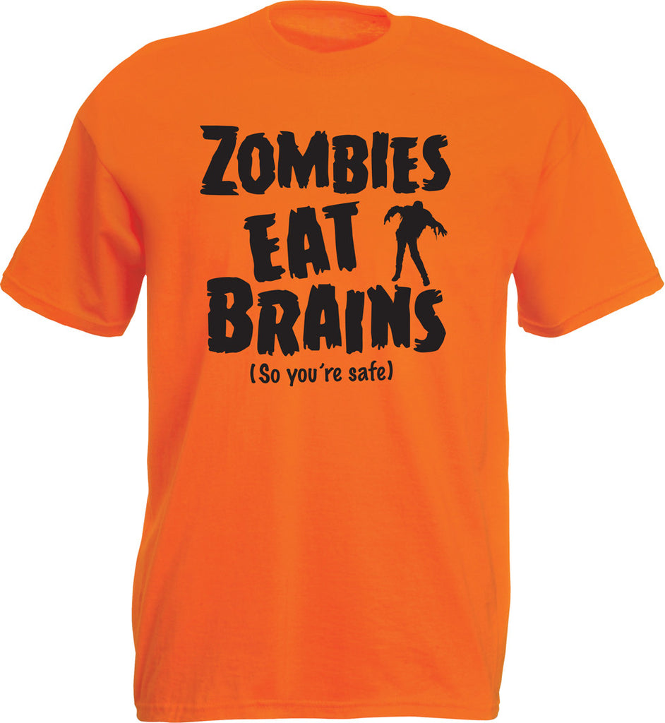 'Zombies Eat Brains...' T-shirt