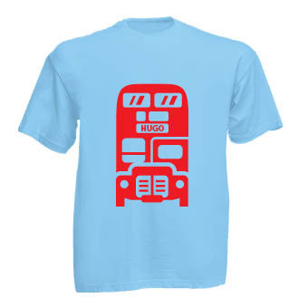 Name Bus T-shirt (personalised)