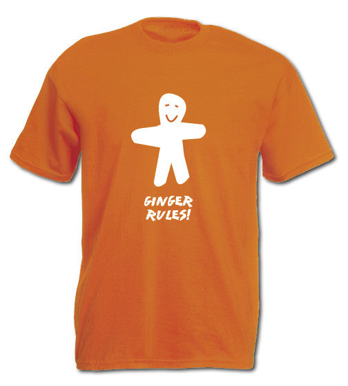 Ginger Rules T-shirt