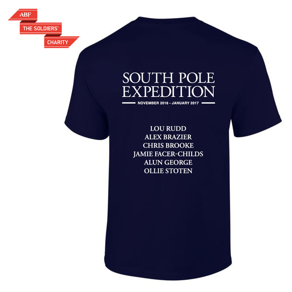 SPEAR17 - South Pole Expedition Commemorative T-shirt
