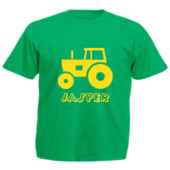 Tractor T-shirt (personalised)