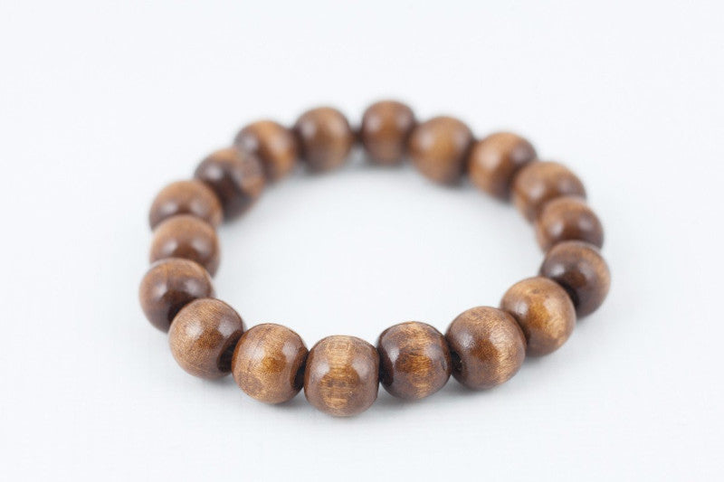 light brown wooded bracelet - davidshurlan