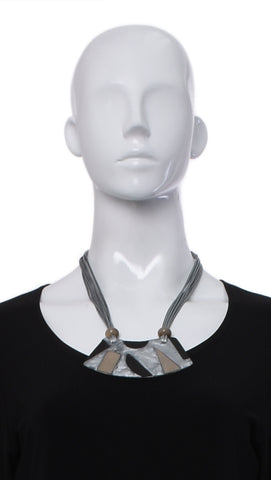 "Collier ""Gris"" -3546 