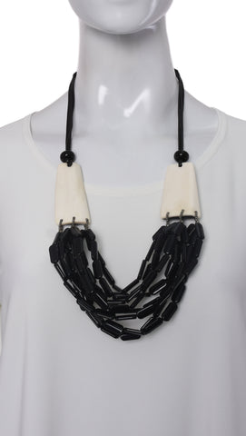 "Collier ""Noir"" -5384 