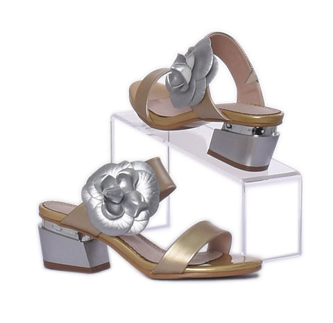"Chaussure ""Or-Argent""  