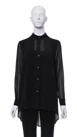 "Blouse Ample ""Noir"" 