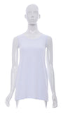 "Cami ""Blanc"" Bretelle Large de Base -CL880B 