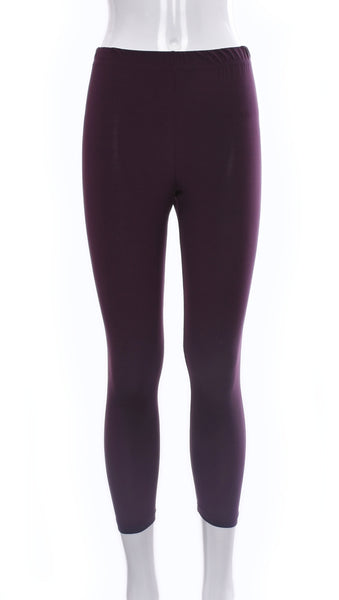 "Legging ""Rouge-Vin"" -P777B 